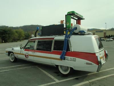 1971 Cadillac Fleetwood Ghostbusters Cadillac Ghostbusters Hearse Turns Heads Everywhere Must See Who You Gonna Call