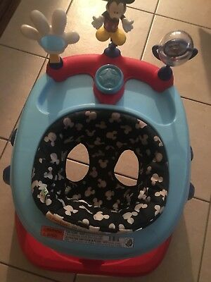Disney Mickey Mouse Baby Walker Height Adjustable Baby Kid Toddler Infant