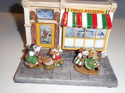 Wee Forest Folk Store Special - Topo's Pizzeria M-244ss MIB LTD