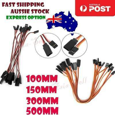 10cm 15cm 30cm 50cm Male Female Quadcopter Extension Servo JR Cables 100mm-500mm