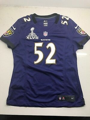 982015f5d Ray Lewis Baltimore Ravens Nike Women s Jersey Super Bowl XLVII patch. NWT.
