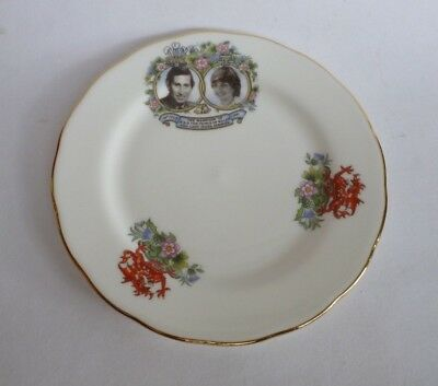 Queen Anne England Porcelain Royal Prince of Wales Charles Lady Diana Wedding
