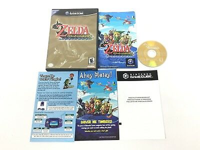 The Legend Of Zelda The Wind Waker Nintendo Gamecube Complete In Case Tested