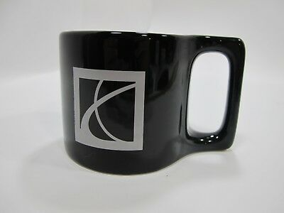 COFFEE MUG SATURN Car Auto Logo Graphic Ceramic Black