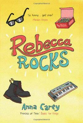 Rebecca Rocks by Anna Carey | Paperback Book | 9781847175649 | NEW