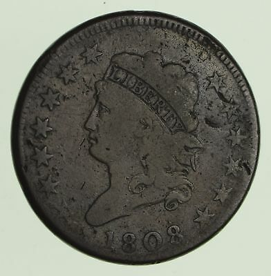 1808 Classic Head Large Cent - Circulated *9970