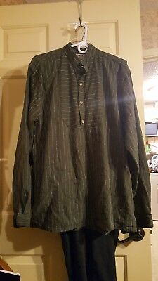 Old West Clothing, Frontier Classic Men's Shirt, Used, Good Shape, Size L