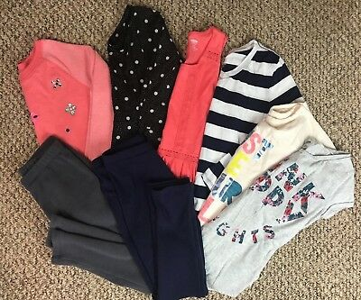 HUGE Girls Clothing Lot Size 10/12 Large Summer Fall Winter Spring