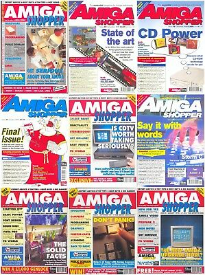 Amiga Shopper Magazine Compilation - 72 Issues In PDF Format On 2 DVDS - OCR