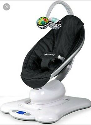4moms Mamaroo Baby Swing Classic Black With Original Box