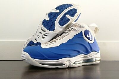 7121cdf1c2fa5 ... Black White 2005 Nike Total Air Foamposite Max Royal Blue White Tim  Duncan 307717-411 US11 . ...
