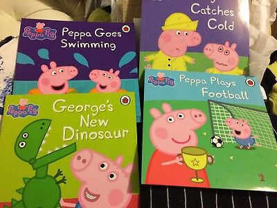 New 16 Book Included Peppa Pig Reading Book, Peter Rabit, How Much I Love You .