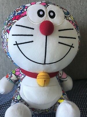 NWT Uniqlo Takashi Murakami x Doraemon Plush Toy Limited Edition Sold Out