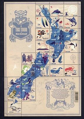 New Zealand Stamps - 2 pages - MNH
