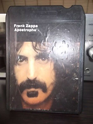 "8TRACK 8 SPUR Kassette   FRANK  ZAPPA  "" Apostrophe'  """