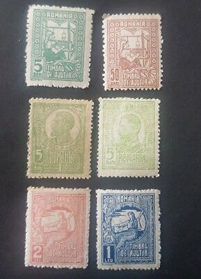 ROMANIA stamps   Sets Lightly Hinged (D66)