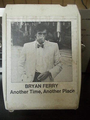 "8TRACK 8 SPUR Kassette   BRYAN  FERRY  "" Another Time  Another Place """