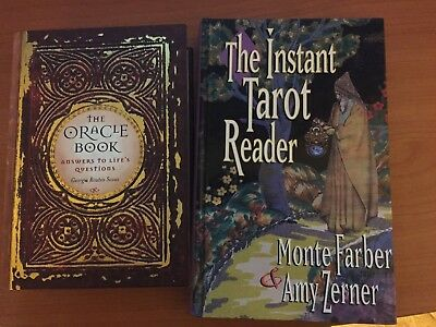 The Oracle Book/The Instant Tarot Reader/HARDCOVER*DIVINATION*TAROT*No Cards