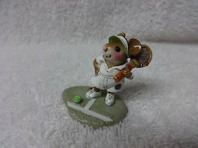 Wee Forest Folk Winston MS-27 Tennis Player MIB