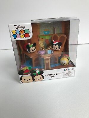 Mickey And Minnie Exclusive Christmas Gift Set 64790 By Tsum Tsum