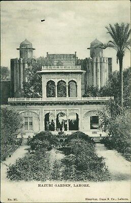 Hazuri Garden. Lahore.  India Antique Postcard      Ai.899