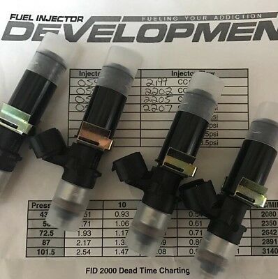 FID2000 Fuel iInjector Development 2000cc 2200cc Set Of 8  ID2000 FIC2000 Bosch