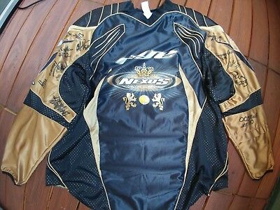Dye Paintball Jersey XL , Shirt , Gotcha , Schwarz Gold