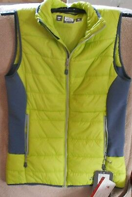 Damen Weste Mc Kinley Green Lime/Navy Gr.38