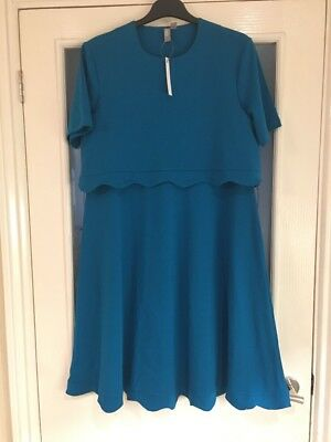 Ladies Clothes Size 10 ASOS Maternity Dress Smart Casual Stretchy New