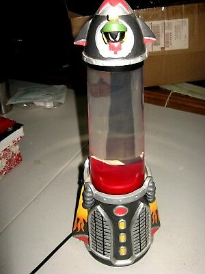 Super Rare Warner Bros. Studio Store Marvin Lunar Lamp Marvin The Martian WORKS