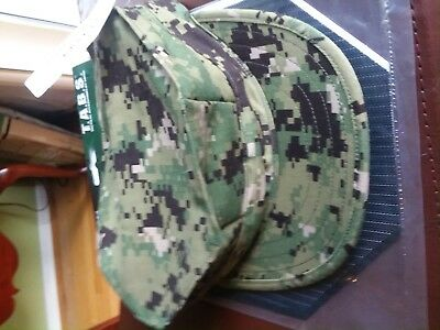 ~New With Tag! US NAVY USN NWU TYPE III AOR2 UTILITY CAP 7-3/8 LG 8-POINT HAT