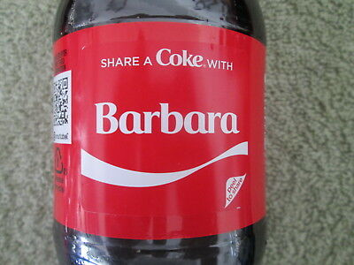 New Summer 2018 Collectible Share A Coke With Barbara-Limited Edition