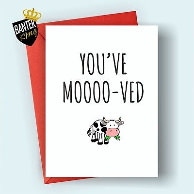C14 youve mooved moving new house home congratulations greeting card c14 youve mooved moving new house home congratulations greeting card funny m4hsunfo