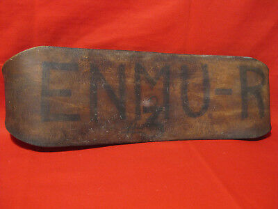 """Antique 1900s Leather Weightlifting Belt  """" New Mexico  U.S.A """" Initial  ENMU-R"""