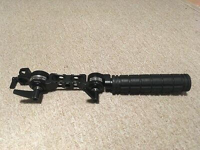 15mm Rail Handle With Rossette Mount