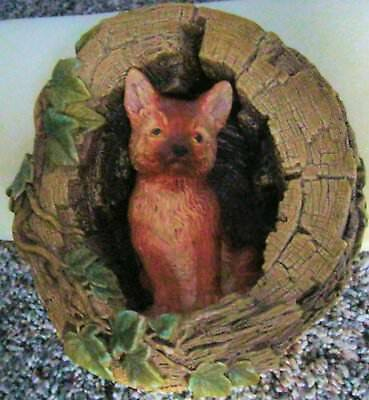 "BOSSONS FOX CUB 6.75"" tall made in England Hand Painted NO BOX"