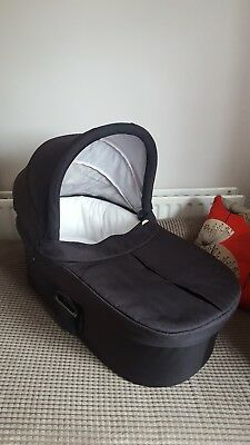 Mamas And Papas Black Carrycot For Zoom, Sola/2 And Urbo/2