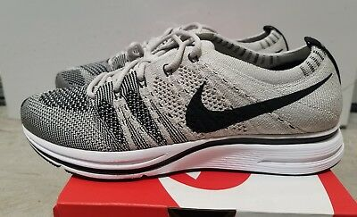 84983691fcecd Nike Mens Flyknit Trainer Pale Grey Black AH8396-001 Size 5 DS With Receipt