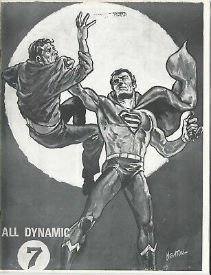 Early Comics Fanzine ALL DYNAMIC #7 - 1970 - Alan Light