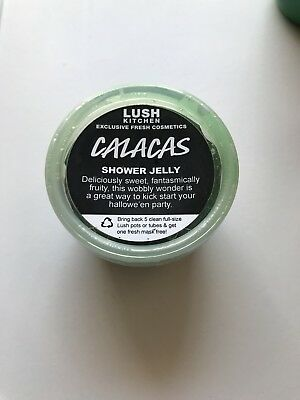 Lush Calacas shower jelly kitchen rare discontinued Halloween