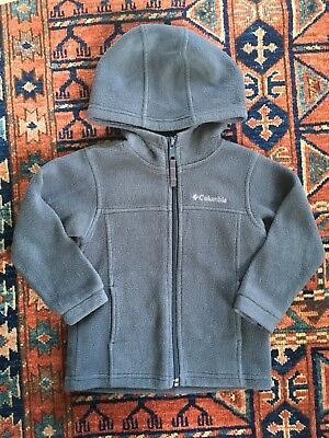 Columbia Toddler Hooded Fleece Jacket Boys 3T