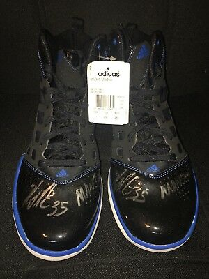 Denver Nuggets Kenneth Faried #35 Signed Shoes/Sneakers Autographed Manimal 10.5