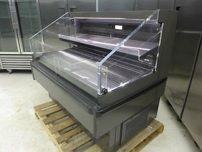 """NEW Hussmann Q2-SS-4S 50"""" Self Contained Meat Deli Produce Refrigerator Cooler"""