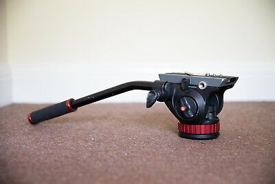 Manfrotto MVH502AH Pro Video Head with Flat Base And 504PLONG Plate