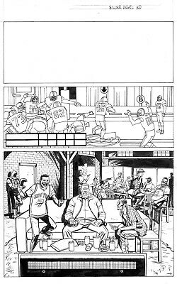 THE STRAIN: SILVER ANGEL p 1-8 Original Art by David Lapham