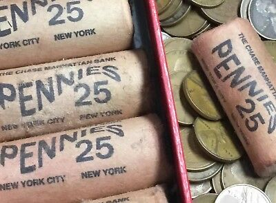 💰Rare Chase Lincoln Wheat  Cent Penny Chase Short Roll OBW unsearched PENNIES💰