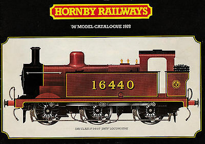HORNBY RAILWAYS OO; 1978 24th Edition Catalogue. 71 Pages VERY GOOD+ CONDITION