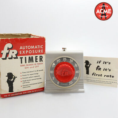 FR Corporation Automatic Exposure Timer
