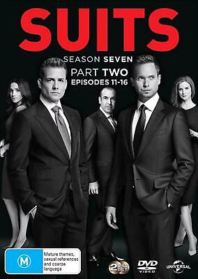 Suits: Season 7: Part 2 - DVD Region 4 Free Shipping!
