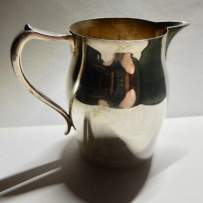 """Vintage Silverplate large pitcher, about 15"""" high and 8"""" wide, Wallace 3457"""
